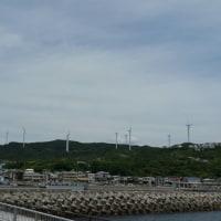 淡路の風力発電