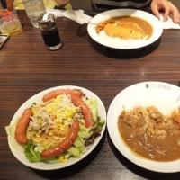 「カレーハウスCoCo壱番屋」にてカレーランチ
