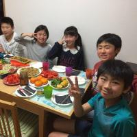 たこパーからのお泊り会 2017/03/19