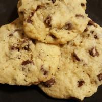 息子が初めて作ったチョコレートチップクッキー
