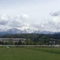 午後の「立山連峰」