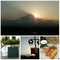 富士山 sunset