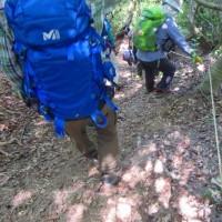 24 蓮華寺山・高城山(374・496m:安芸区)登山  乗り物利用せずに下山へ