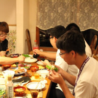 台湾からの学生たち