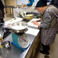 男の料理教室、八宝菜&肉まん