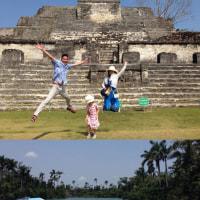 マヤ族が現存する国ベリーズへ、マヤの神殿を訪ねてきました