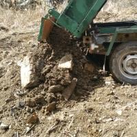 今日はガッツリ土木作業