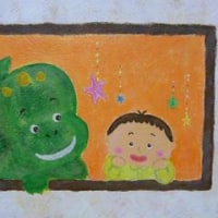 「ぼくのティラノザウルス」(2013児童文芸童話展 出展作品)作品№13