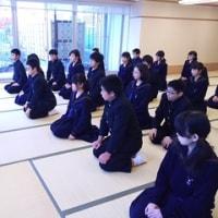 8年市民科 茶道の学習