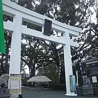 復旧中の熊本城と加藤神社参詣
