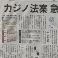 カジノ法案、可決! (大反対!)