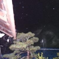青い瓦屋根の上に ~ オーブ写真集・3rd Period (8)