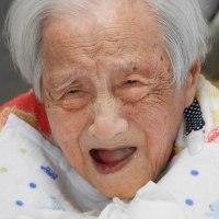 ばあちゃんの笑顔