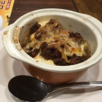 豆腐の肉味噌オーブン焼き@Jョナサン