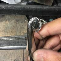 プラチナダイヤリングの爪修理です♪