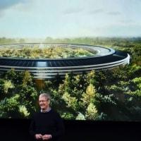 アップルの宇宙船新本社へ4月入居開始。