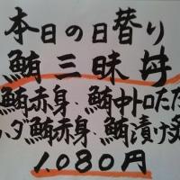 静岡・清水港 みなみ で 鮪三昧丼