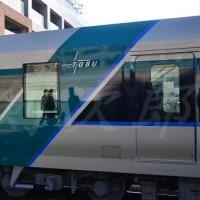 東武500系甲種輸送