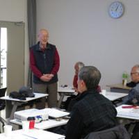第241回「玉川上水に親しむ会」例会-は、スライド学習会でした。