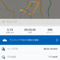 ジョギング記録・9