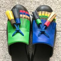 玄関の靴 カンペール