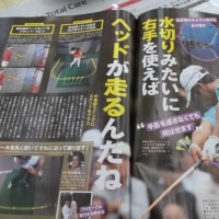 ゴルフスウィング(ゴルフ雑誌から) 今更ながら・・・