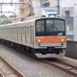205系M13編成むさしの号八王子行@国立駅