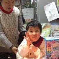 恭一6歳になりました