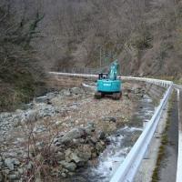 堰の取水口整備