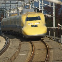 2016年12月7日 東海道新幹線 923系 T5編成 ドクターイエロー のぞみ計測 紅葉