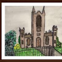 愛蘭土旅行シリーズ その14 街道沿いに見かけた教会