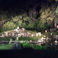 萬福寺~雪舟庭園~ライトアップ