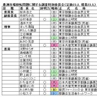 百条委員会 委員の事前査定 コラム(205)