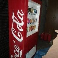 市民劇場用の絵、自販機