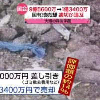 9億5千万の土地を200万円で入手か?(森友学園)