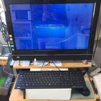 一体型コンピュータを移動したのでスッキリしました。長く使うぞ。
