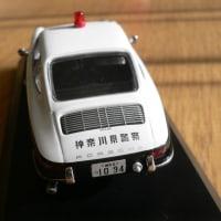 1/43ミニカー 高速パトカー ポルシェ912