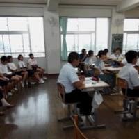 中学校の弁論大会