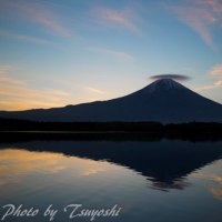 田貫湖からの笠雲
