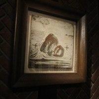 リーチの陶板画
