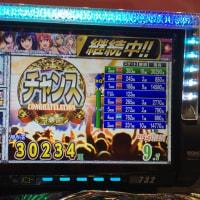 久々の「3万発」オーバーっ!!(^_-)-☆ I hit the jackpot !!