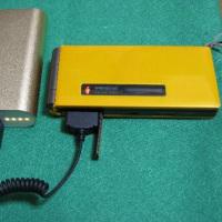 モバイルバッテリーからガラケー携帯充電