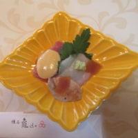 懐石 龜山で新年会