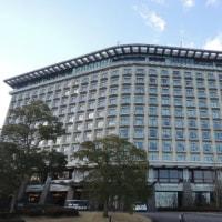 新年会で小田原のヒルトンホテルへ