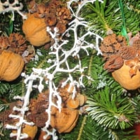 クリスマススワッグを作る