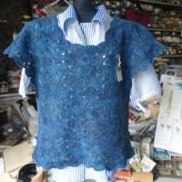 カスパリー編み応用の基本となるレイヤード