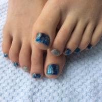 深海ブルー HAND&FOOT