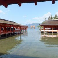 822.宮島 満潮の厳島神社
