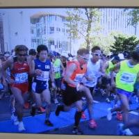 北海道マラソンの視覚障害ランナー