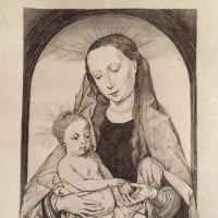 林檎持つ聖母子の微笑(ゑ)みひそやかに我らを贖う血のきよらなり